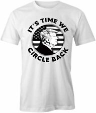 IT'S TIME WE CIRCLE BACK TShirt Tee Short-Sleeved Cotton CLOTHING S1WCA591