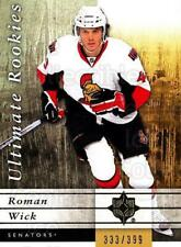 2011-12 UD Ultimate Collection #108 Roman Wick