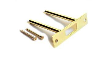 Home Security Door Reinforcement | Two Post Strike Plate | Secure Door Defense