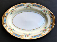 "Vintage 12"" Noritake China ""Kongo"" Hand Painted Serving Platter"