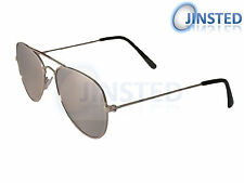 CHILDRENS SILVER AVIATOR CHILDS KIDS MIRRORED REFLECTIVE SMALL SUNGLASSES KA001