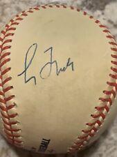maddux glavine smoltz mazzone autographed baseball (authenticated)