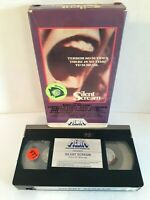 Silent Scream (VHS 1982) Horror Media Home Video Rebecca Balding Yvonne De Carlo