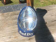 Bud Dry Bar Bottle Display, Vintage Mirror Advertising,