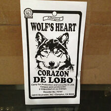 Wolfs Heart In Envelope Wiccan Spell Wicca Witchcraft Supplies