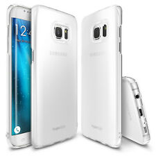 Rearth Case Samsung Galaxy S7 Edge Ringke Slim Case [0,3mm] Cover Frost White