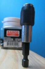 BAHCO QUICK RELEASE MAGNETIC BIT HOLDER DRIVER