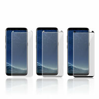SAMSUNG GALAXY S8+ (PLUS MODEL) FULL CURVED 3D TEMPERED GLASS SCREEN PROTECTOR