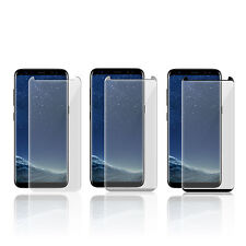 SAMSUNG GALAXY S8 FULL CURVED 3D TEMPERED GLASS SCREEN PROTECTOR