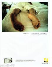 PUBLICITE ADVERTISING 046  2004  Nikon  appareil photo Coolpix 3700 multimédia