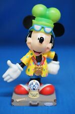 "Mickey I'm Going To Disney World 6"" Figurine 17828 Disney Inspearations Retired"