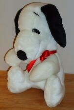 "Peanuts Snoopy 12"" stuffed plush"