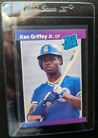 1989 DONRUSS #33 KEN GRIFFEY JR ROOKIE CARD RC SEATTLE MARINERS HOF GEM MINT