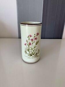 Deruta Gypsophila Repens Flower Ceramic Italian Vase Pottery Signed
