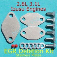Vauxhall Opel Frontera 2.8L Isuzu Trooper 2.8L  3.1L  EGR removal Blanking Kit