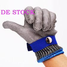 Sicherheits Cut Proof Stichsichere Edelstahl Handschuhe Metall Mesh Butcher DE