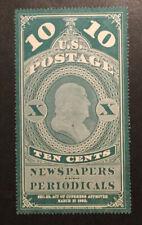 TDStamps: US Newspapers Stamps Scott#PR6 Unused LH NG