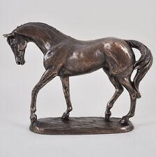 Nobility Bronze Horse Sculpture Race Horse NEW Harriet Glen Gift H15.5cm 33702