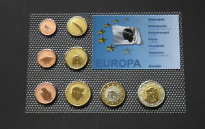 CORSICA CORSE 2008 SET EURO COINS SPECIMEN PATTERN PROTOTYPE FRANCE NAPOLEON RAR