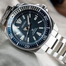 Reloj Seiko SAMURAI RESINA 49K1 Diver * Reino Unido stock * Prospex Padi atún SARB UK