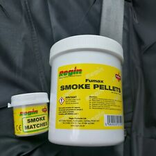 REGIN REGS20 FUMAX SMOKE PELLETS (TUB OF 100) + tub of regin smoke matches (75)