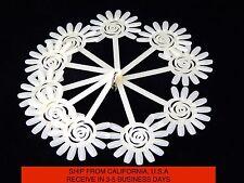 120 Tips Nail Art Design Acrylic Polish Fan Board Display Practice Sticks Wheel