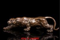 Art Deco Sculpture Jaguar Panther Leopard Animal Bronze Statue