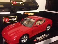 1:18  Bburago 1992 Red Ferrari 456GT 456 GT Item 3046