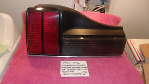 1985-1986 OLDSMOBILE CALAIS FACTORY GM DRIVERS LEFT TAILLIGHT FREE SHIPPING
