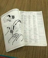 Ersatzteilbuch Schaltplan Hercules DKW W2000 9800080220 3/1975 Gebraucht RARITÄT
