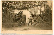 GUERRE. WAR. CANON. HOWITZER. GUN. OFFICIAL WAR PHOTOGRAPHS. SERIES 4  N° 32