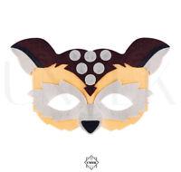 Owl Face Animal Mask - Jungle, Safari, Zoo Face Mask Fancy Dress Accessory Kids