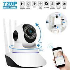 HD 720P Wifi IP Caméra Surveillance Sans fil Vision Nuit Sécurité Extérieur FR