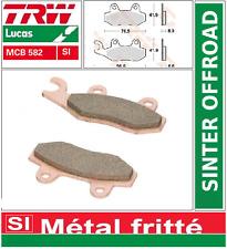 2 Plaquettes frein Avant  TRW MCB582 SI Kawasaki KDX 200 93-94/ KLX 125 CAF 10->