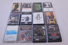 Lot Of CLASSIC ROCK, POP MUSIC CASSETTES, 12 TAPES - Gilmour Slade Who Foreigner