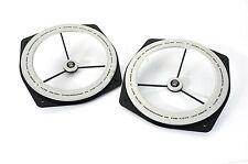 2x GRUNDIG Zierring/Zier Ring (pair) Frontabdeckungen f. Tieftöner Aktiv-Box 50