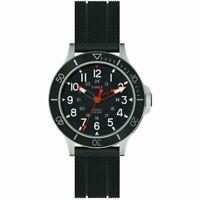Orologio Uomo TIMEX ALLIED COASTLINE TW2R60600 Silicone Nero Sub 100mt NEW