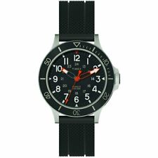 Orologio Uomo TIMEX ALLIED COASTLINE TW2R60600 Silicone Nero Sub 100mt NEW