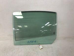 09-16 LINCOLN MKS REAR LEFT DRIVER SIDE DOOR WINDOW GLASS PANEL OEM LOT3147