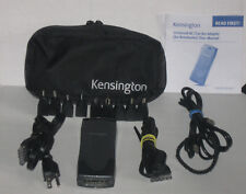 Kensington Universal AC/Car/Air Adapter For Notebook 9 Tip,Case,Wall & Car Cable