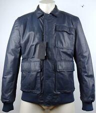 Porsche Design Leather Jacket reverse chaqueta de cuero señores chaqueta talla 48 nuevo + etiqueta