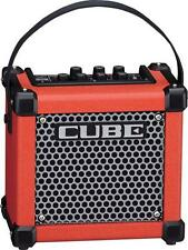 Roland MCUBEGXR MICRO CUBE GX Battery Powered Guitar Amplifier, Red