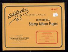 2012 White Ace U.S. Commemorative Plate Block Stamp Album Supplements PB-64