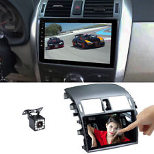 """For Corolla 2008-2013 2DIN 9"""" Android 9.0 Radio Stereo GPS Navigation w/ Camera"""