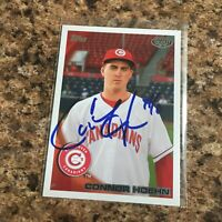 Connor Hoehn Signed 2010 Topps Pro Debut Rc Auto Oakland Athletics A's