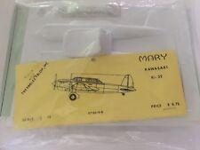 Vintage Eagles Talon Mary Kawasaki Ki-32 1/72 Scale Vacuform Bag Model