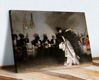 CANVAS WALL ART ARTWORK FRAMED PRINT John Singer Sargent EL JALEO Spanish Dancer