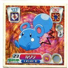 POKEMON STICKER Carte JAPANESE 50X50 2003 NORMAL N°  23 AZURILL