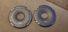 Pair Kicker CS Series 6.5 Inch Round Speaker Grilles; FREE S/H!