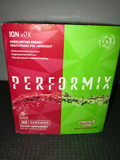 Performix ION v2X Pre-Workout Dual Flavor Tin - Cherry & Lime 30 svr Exp 01/20